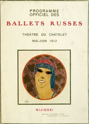 Programme for the Theatre du Chatelet, by Georges Lepape 1912