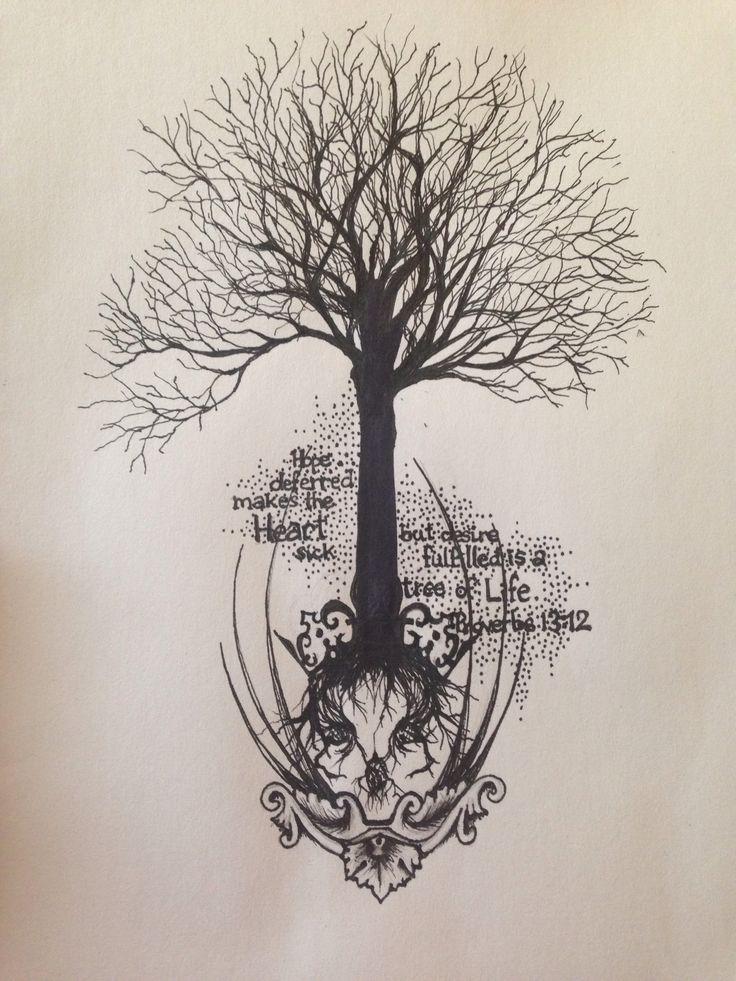 63 Best Tree Tattoos Images On Pinterest Tattoo Ideas