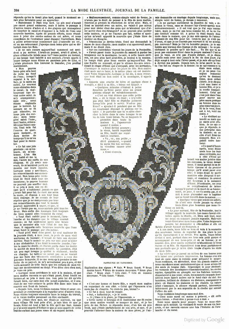La Mode illustrée Dec 1864