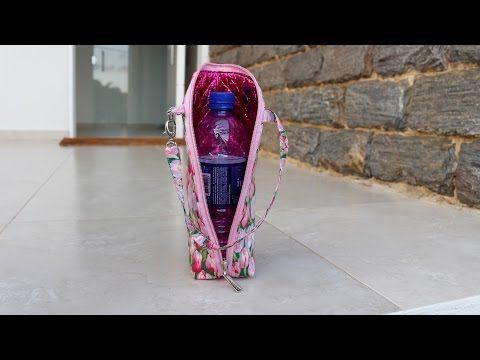 Bolsa Porta Garrafinha de Água - YouTube
