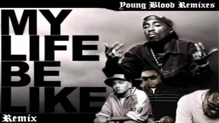 Grits, Tupac, Eminem & 50 Cent - My Life Be Like Remix [HQ]