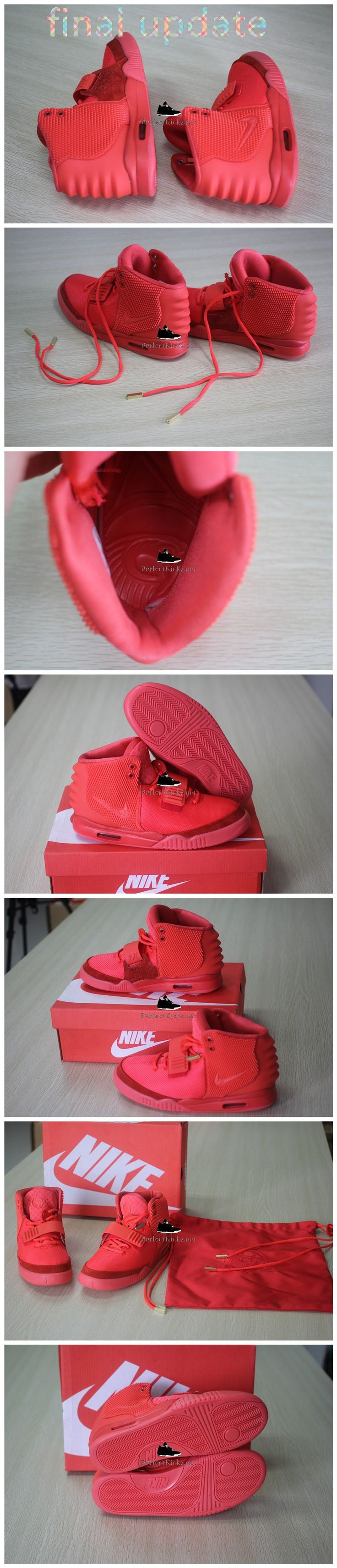 Super Max Nike  Air Yeezy  red october
