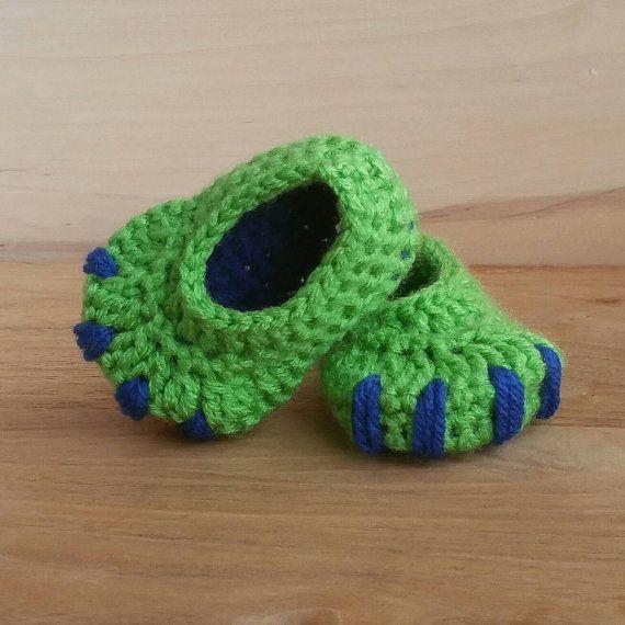 Häkeln Sie Baby Hausschuhe Neugeborene Schuhe von BriellaSoulKids