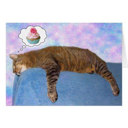 Rupie Cat Dream Big Birthday Card - birthday cards invitations party diy personalize customize celebration