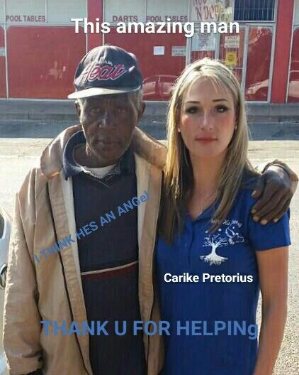 Under his Covering. Director. Carike Pretorius.  With her..an amazing man that stood with me and helped me.