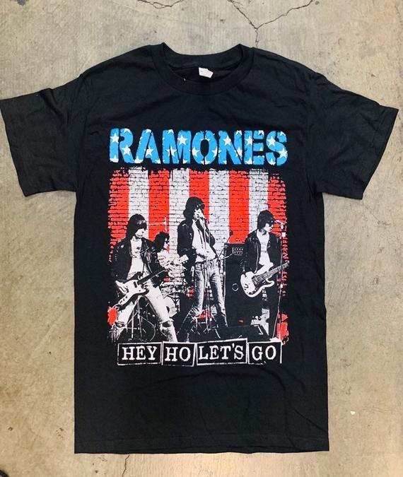 Ramones Classic Punk Band Custom Mens Fashion T-Shirt Soft Tee Brand New-Natural