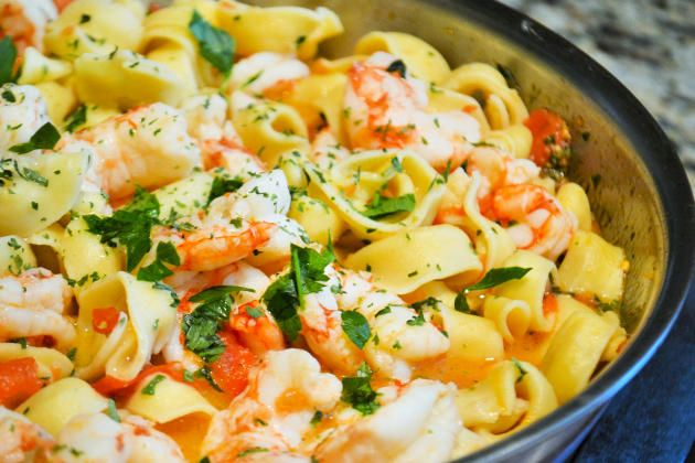 Make this shrimp scampi tortellini for dinner on a busy night. You'll discover…
