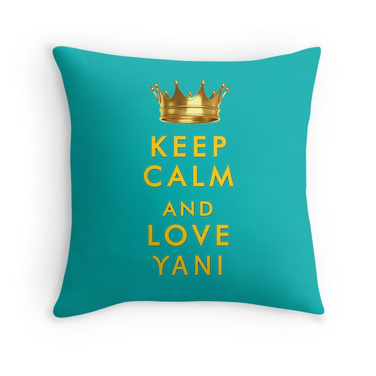 """Keep Calm and love Yani"" slogan printed on T-shirts, cases and skins, pillows, mugs and other items, for Yanis Varoufakis and Greece lovers all over the world"