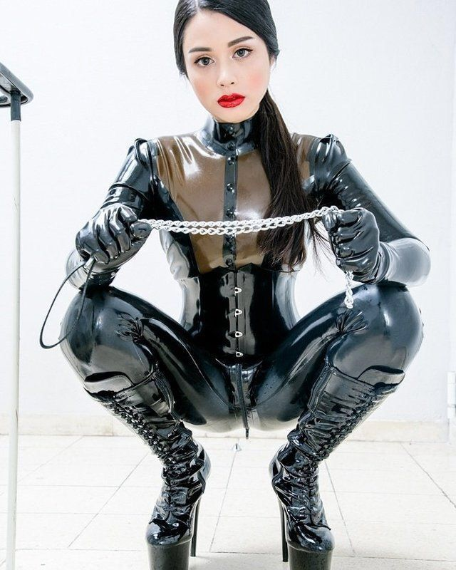 Girls on latex
