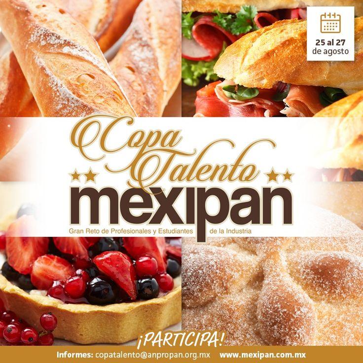 En #Mexipan 2016 hay un espacio para que tú demuestres tus capacidades en la Alta Repostería y la Panadería: La Copa Talento. Toda la información en http://mexipan.com.mx  #cake #birthdaycake 3weddingcake #pasteldebodas #pastel #repostería #pasteldecumpleaños #México #Mexipan #WTC #Expo #MasterClass #Chef #MasterChef #ChefTable #Contest #Concurso