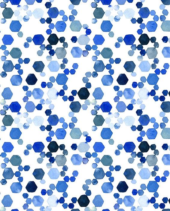 surface pattern- Blue Tile