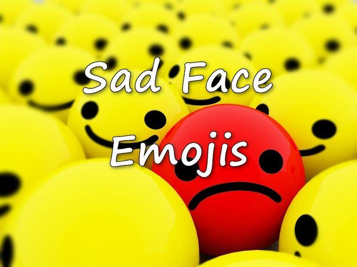 sad emoji Copy for social media