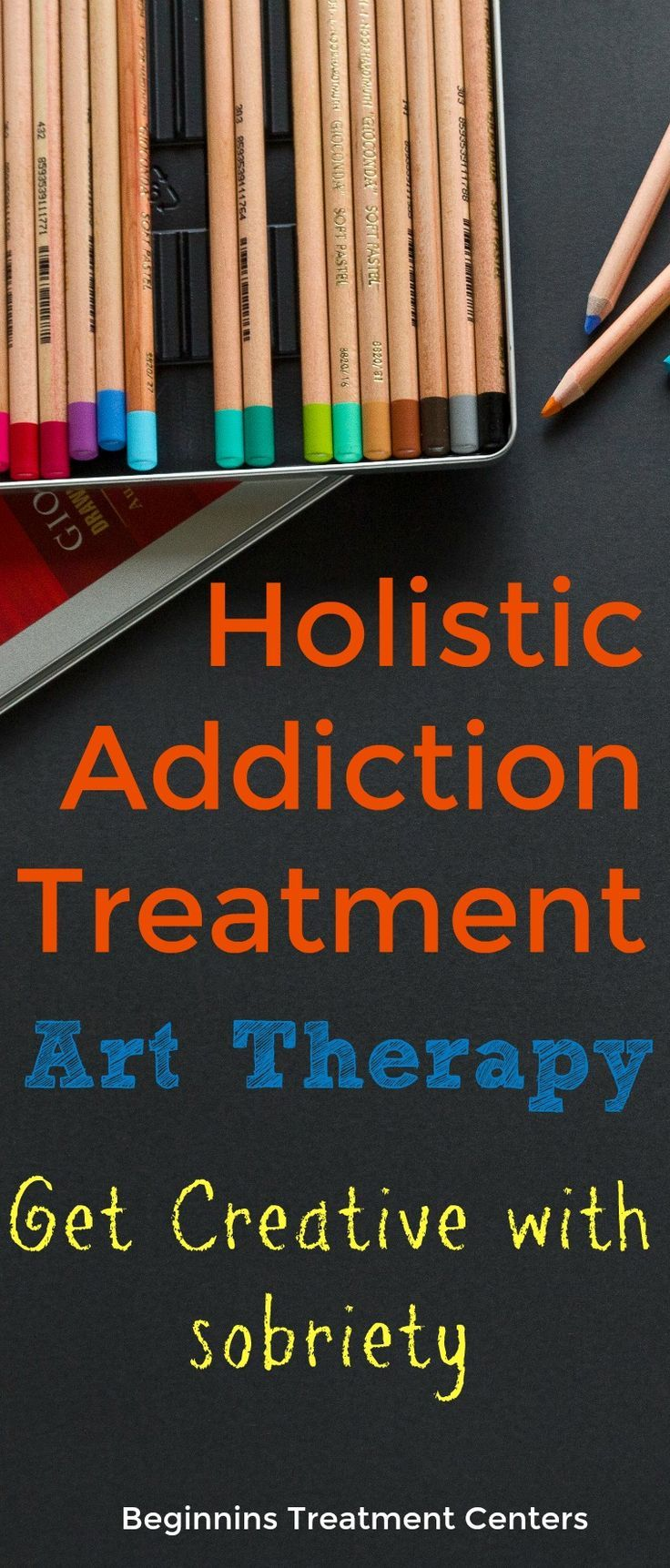 Art therapy is an umbrella term to describe any form of treatment that utilizes the arts. Art therapy to treat addiction, for example, might mean that whenever the urge to use strikes, the person will pick up a pen and paper instead