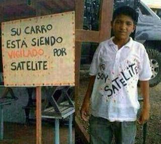 Yo soy satelite ! xD