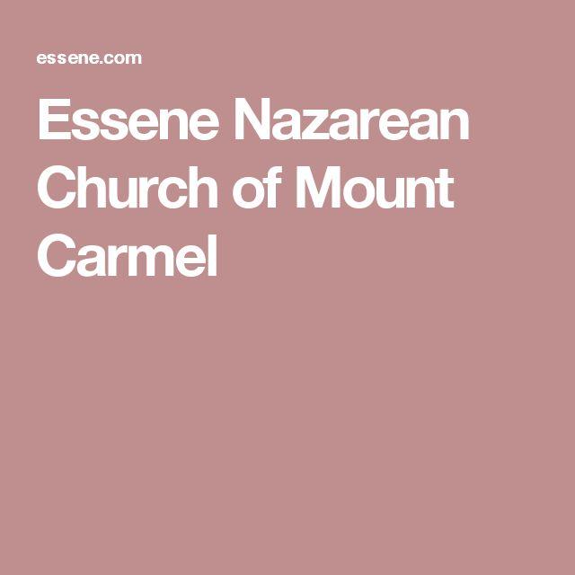 Essene Nazarean Church of Mount Carmel