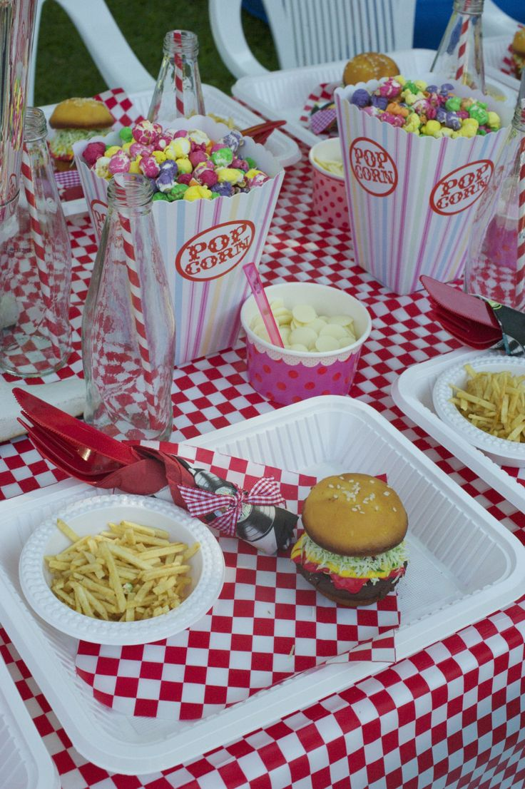 american themed dinner party ideas