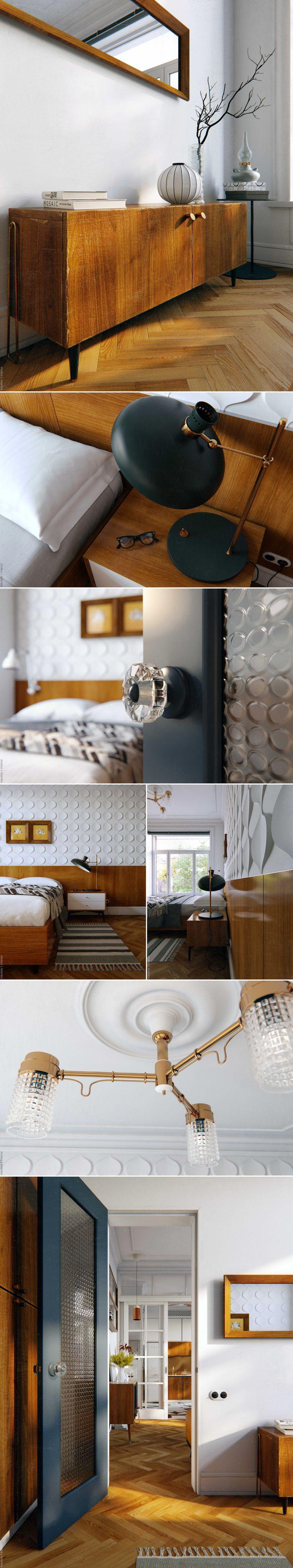 тихий Центр. Квартира | 58 м2 - Галерея 3ddd.ru