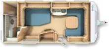 Wohnwagen Fendt Saphir 560 FD - zul. Gesamtgew.1700 kg, Fußbodenhzg. - ID: HC1929961 #Fendt #Saphir #560 FD #Wohnwagen - Caravans - Wohnwagen & Reisemobile