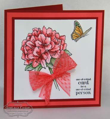 Stampin' Up! best thoughts, watermelon wonder