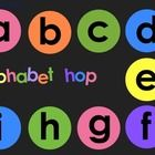 Alphabet Hop: brightly colored, large format game is a great way to teach young children to recognize their letters and to teach letter sounds.