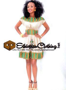 Habesha Style Dress