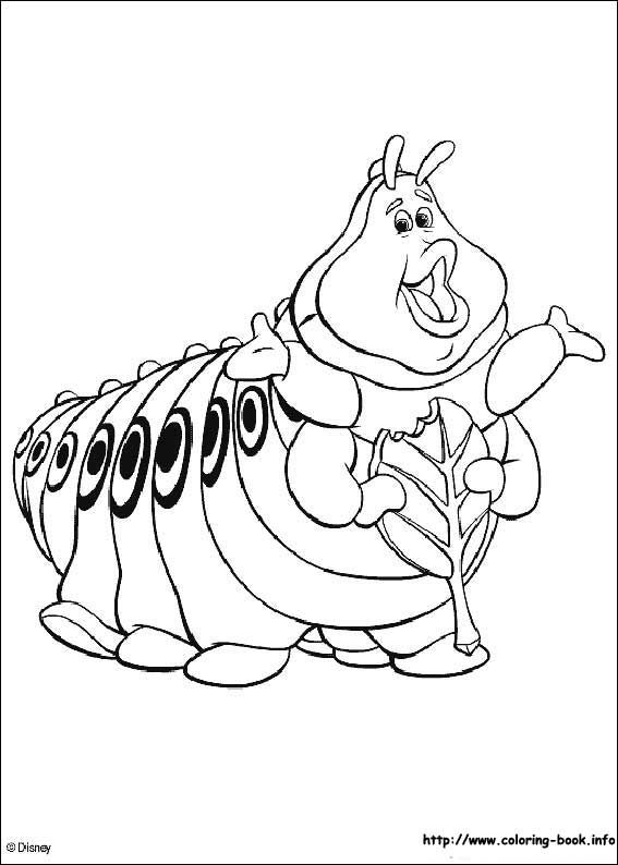 Bugs Life Coloring Page 5 Is A From BookLet Your Children Express Their Imagination When They Color The