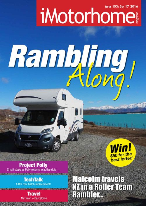 Issue 103 of iMotorhome Magazine is now available on our website. Check it out!