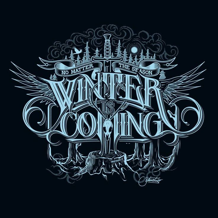 Winter is coming by Martin Schmetzer