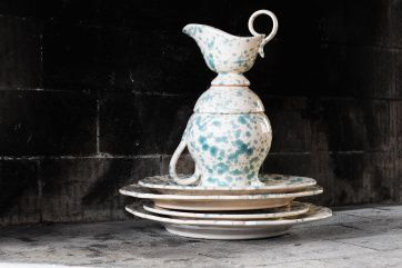 Maiolica Spruzzi Tableware | Artilleriet | Inredning Göteborg