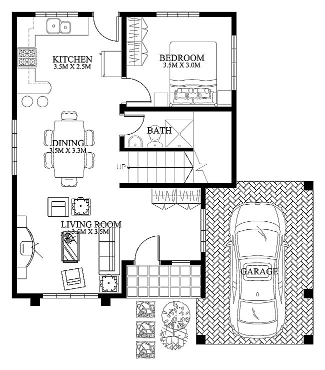 Modern House Design 2012004 Ground Floor House Plans Pinterest Modern House  Design Smallest House And Modern Part 45
