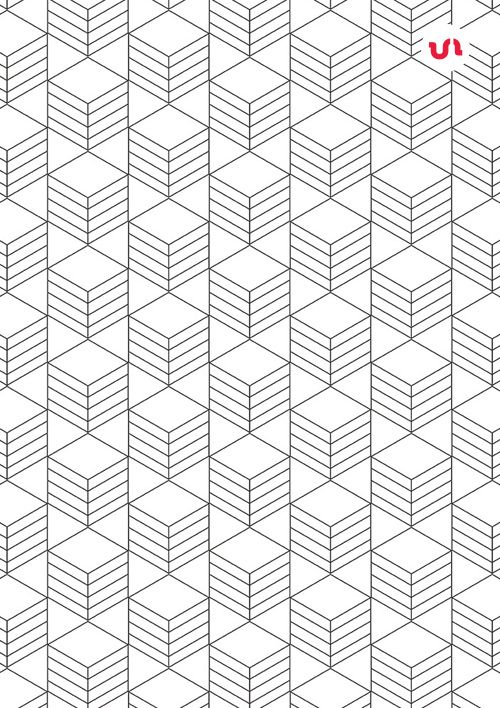 40 Simple Line Geometric Seamless Vector #Patterns
