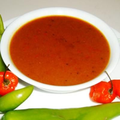 #recipe #food #cooking Bob's Habanero Hot Sauce - Liquid Fire