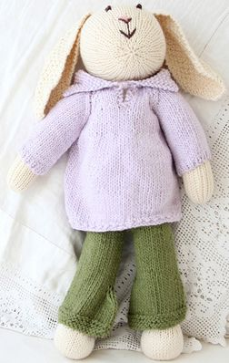 Zia+Tia Hand knit Ellis doll made from GOTS Certified organic cotton yarn, $88.95 - https://www.mylittlegreenshop.com/ProductDetails.asp?ProductCode=TOYS_z_and_t_dolls