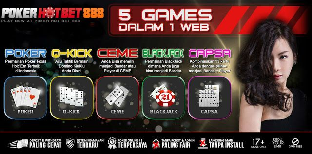 itudewa.Internet agen judi poker domino qq ceme on line indonesia