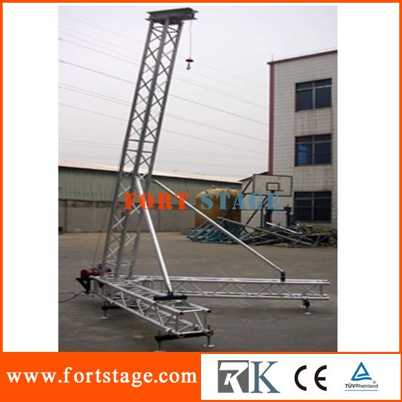 40cmx40cm Lighting Spigot Truss System And Flat Roof Of