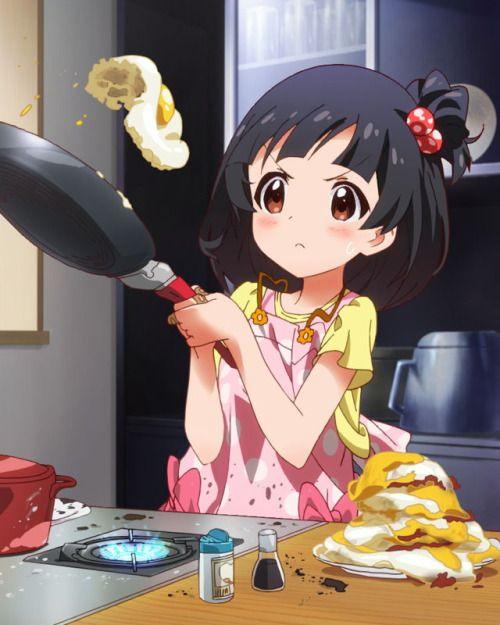 Cooking challege nakatani iku anime art and illustration pinterest cooking - Kawaii kochen ...
