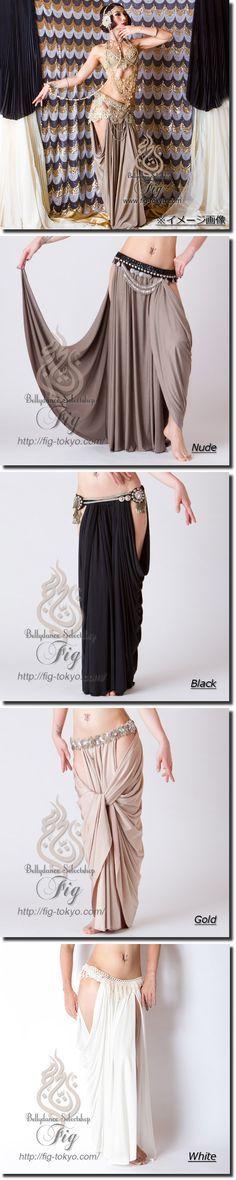 Draped Skirt / ChitLom31. × Miya Miya / Fig Belly Dance #miyamiya