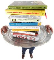 The Year's Best Cookbooks 2010 includes Street Food of India and In my Green Kitchen (Alice Waters)