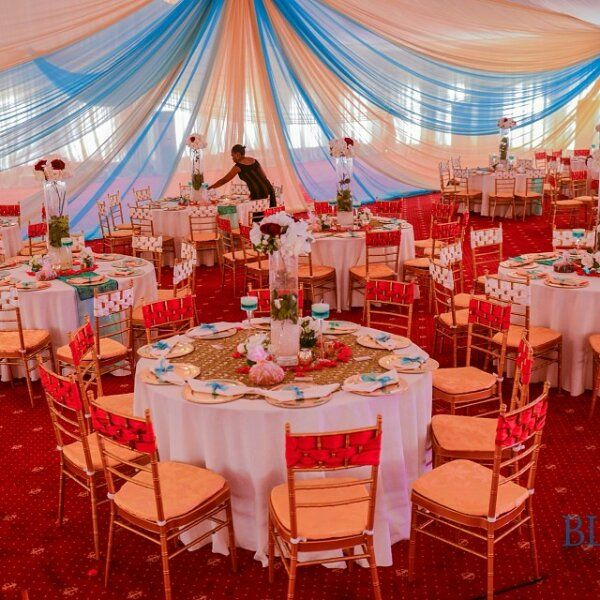 23 best chair covers decorations images on pinterest nigerian nigerian wedding gorgeous chair covers by blue velvet marquee junglespirit Image collections