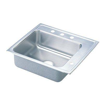 Elkay DRKR2522L0 Lustertone Double Ledge Classroom Commercial Sink
