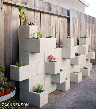 A vida num bloco de concreto.