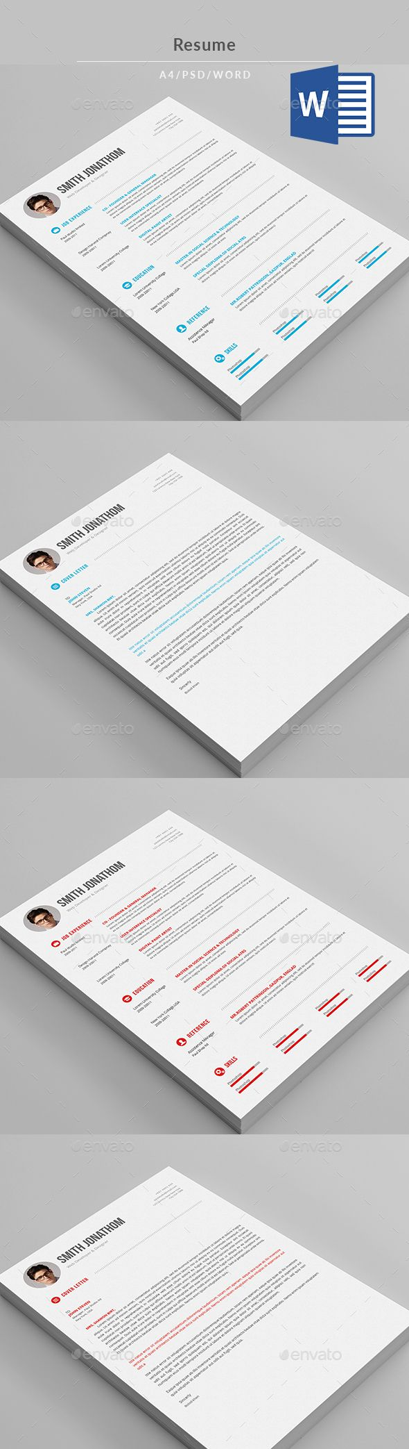 Best Documents Design Ideas Images On   Resume