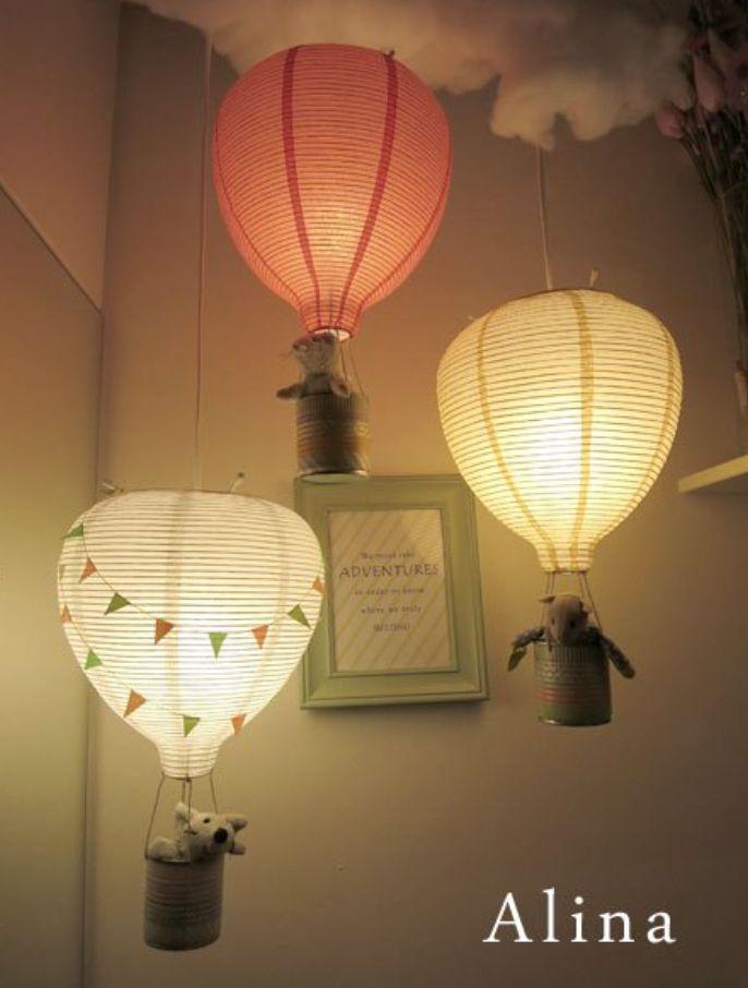 DIY: In de wolken met deze luchtballon lamp! - Famme - Famme.nl