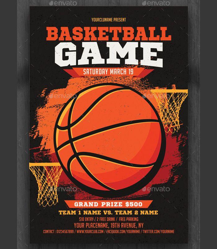 121 best Flyer Templates images on Pinterest Flyer template - basketball flyer example