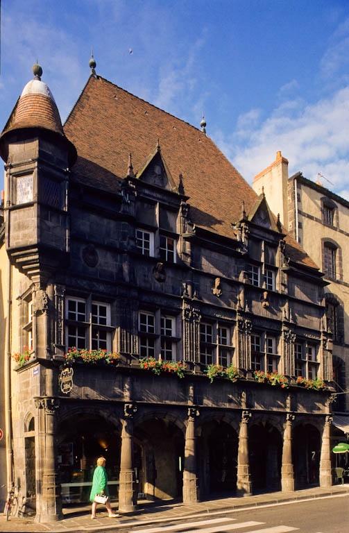 la maison des Consuls, Riom, Auvergne