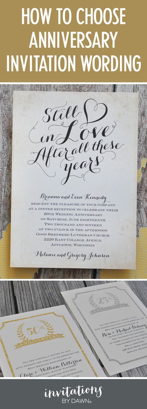 The 25+ Best Anniversary Invitations Ideas On Pinterest