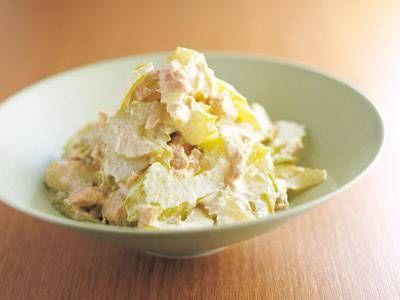 セロリのツナマヨ カレー風味