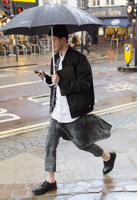style under the rain