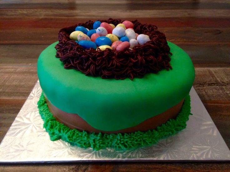 Chocolate Egg Cake Easter