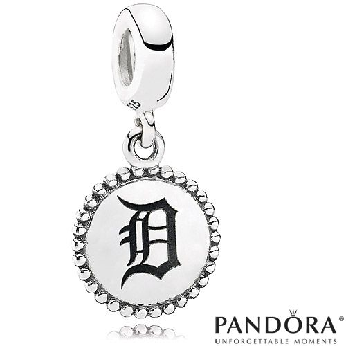 Detroit Tigers Mlb Dangle Unforgettable Moment Charm By